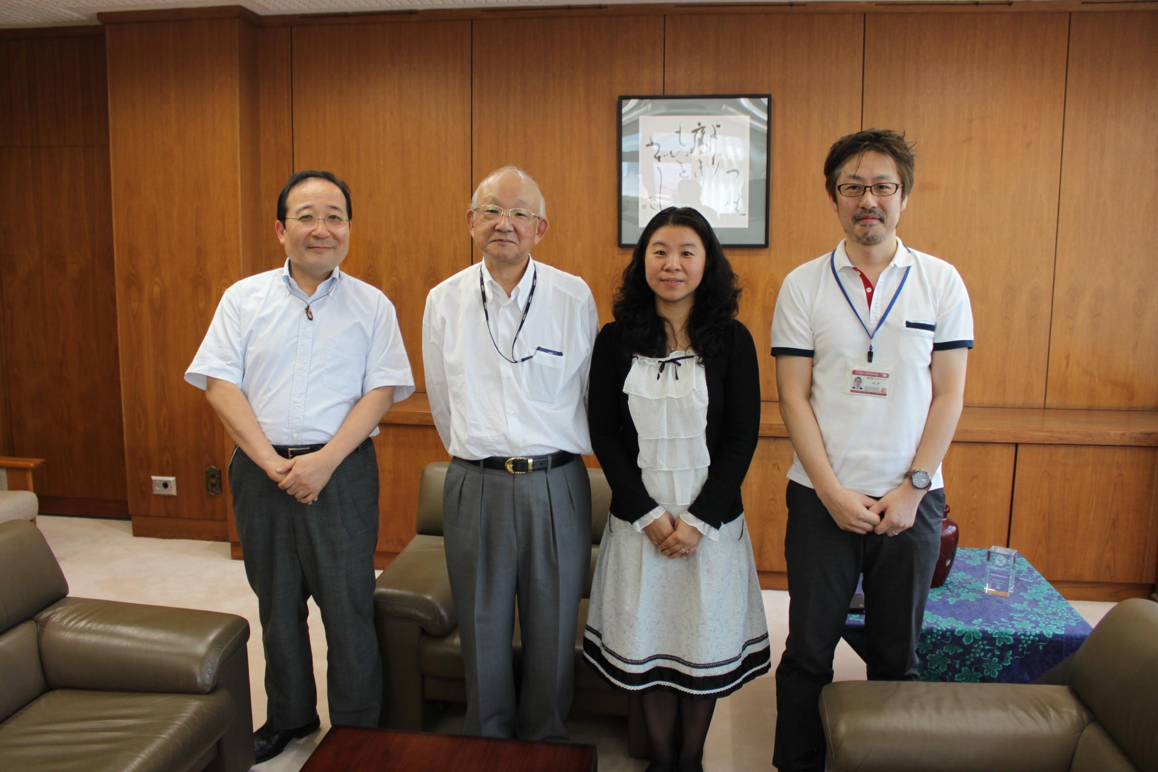 日语系与日本大学建立校际合作关系